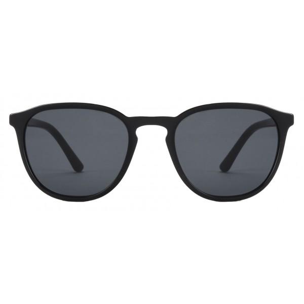 Giorgio Armani - Essential - Occhiali da Sole con Montatura Tonda - Grigio - Occhiali da Sole - Giorgio Armani Eyewear