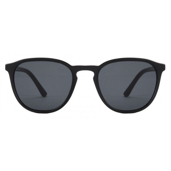 Giorgio Armani - Essential - Sunglasses with Round Frame - Grey - Sunglasses - Giorgio Armani Eyewear