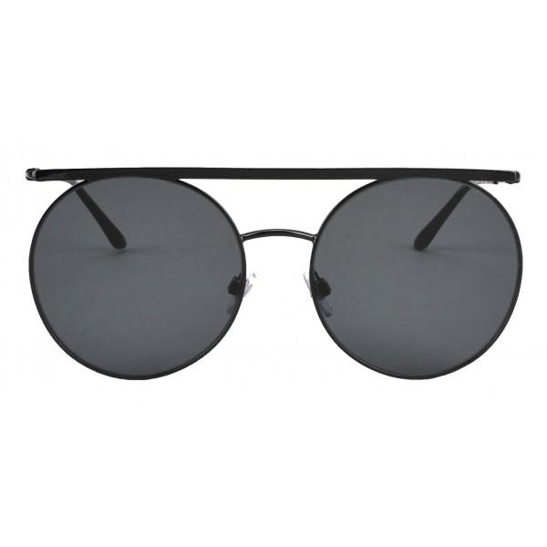 607119c40edc Giorgio Armani - Double Bridge - Metal Sunglasses with Gradient Lenses -  Black - Sunglasses -