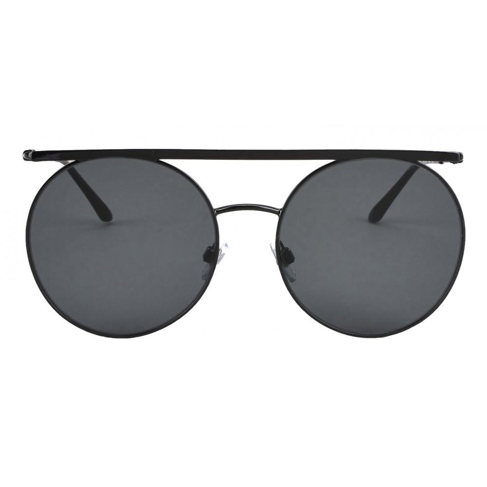 75d77c71a52 Giorgio Armani - Double Bridge - Metal Sunglasses with Gradient Lenses -  Black - Sunglasses ...