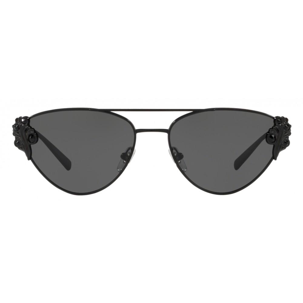 164c698ec4f57 ... Versace - Sunglasses Versace Baroccomania - Black - Sunglasses - Versace  Eyewear