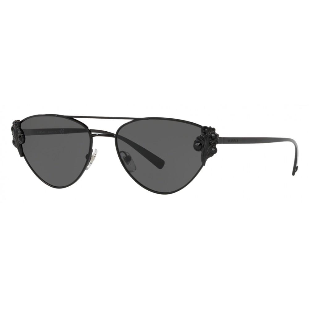 ee905960a65e5 Versace - Sunglasses Versace Baroccomania - Black - Sunglasses - Versace  Eyewear ...