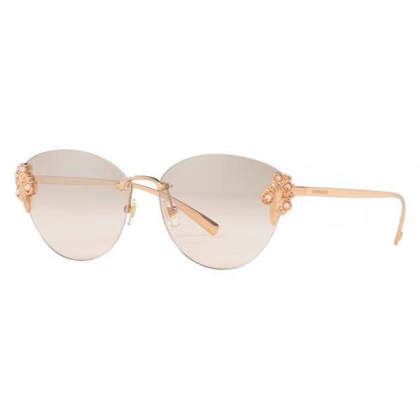 Versace - Occhiale da Sole Versace Baroccomania - Oro Rosa - Occhiali da Sole - Versace Eyewear