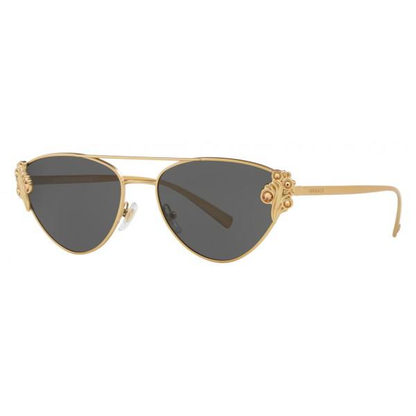 074e532148db Versace - Sunglasses Versace Baroccomania - Black Gold - Sunglasses - Versace  Eyewear - Avvenice