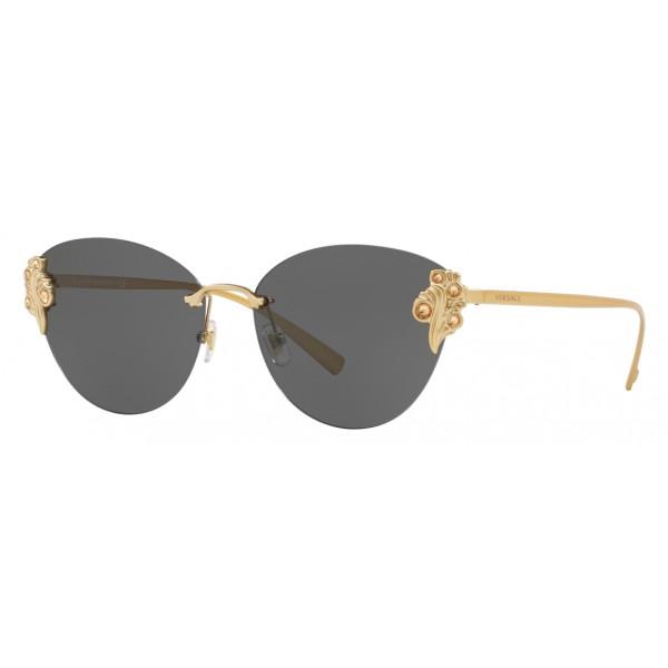 Versace - Occhiale da Sole Versace Baroccomania - Grigio - Occhiali da Sole - Versace Eyewear