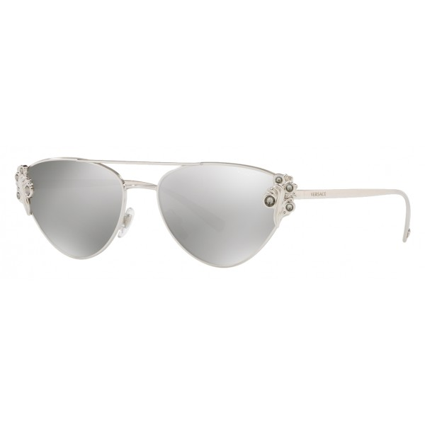 b014cc0ebf865 Versace - Sunglasses Versace Baroccomania - Silver - Sunglasses - Versace  Eyewear - Avvenice