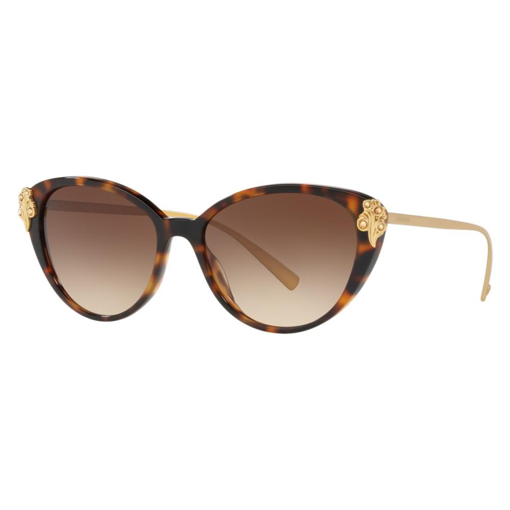 835218c90ab Versace - Sunglasses Versace Baroccomania - Havana - Sunglasses - Versace  Eyewear ...