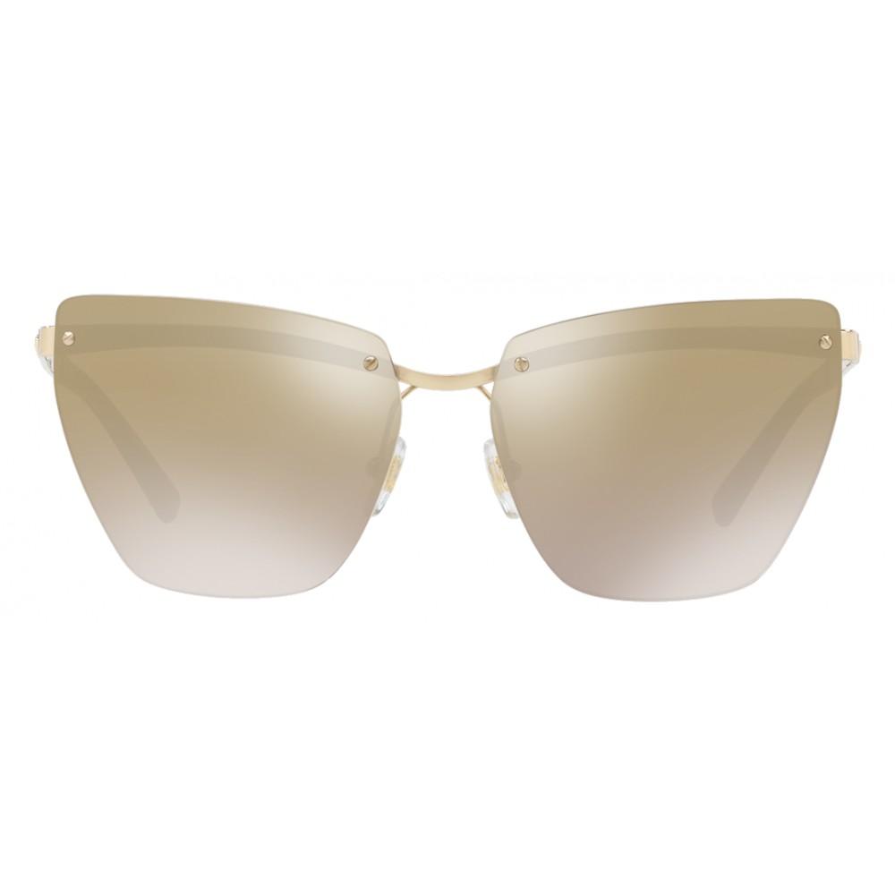 9b4245227f9 ... Versace - Sunglasses Versace Medusina - Brown - Sunglasses - Versace  Eyewear