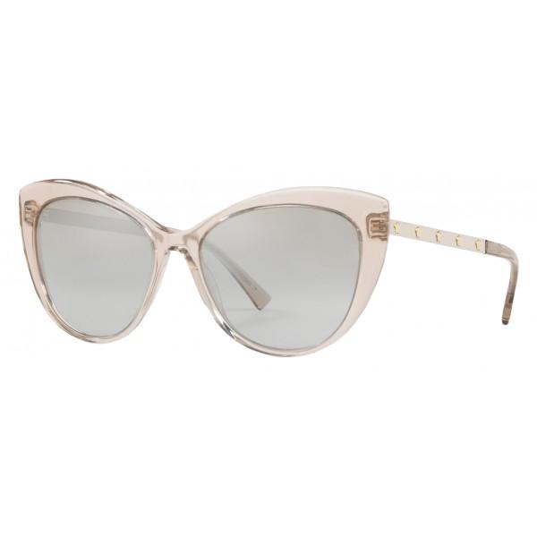 46962fdfc37 Versace - Sunglasses Versace Cat Eye Medusina - Clear - Sunglasses - Versace  Eyewear - Avvenice