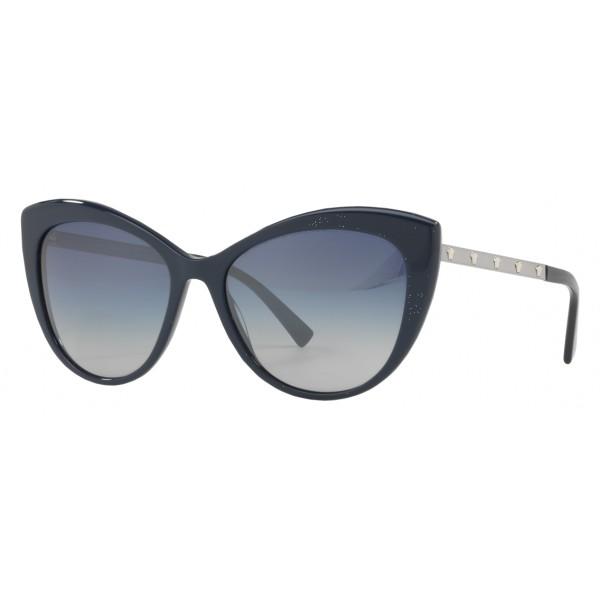 1e14026591f Versace - Sunglasses Versace Cat Eye Medusina - Blue - Sunglasses - Versace  Eyewear - Avvenice