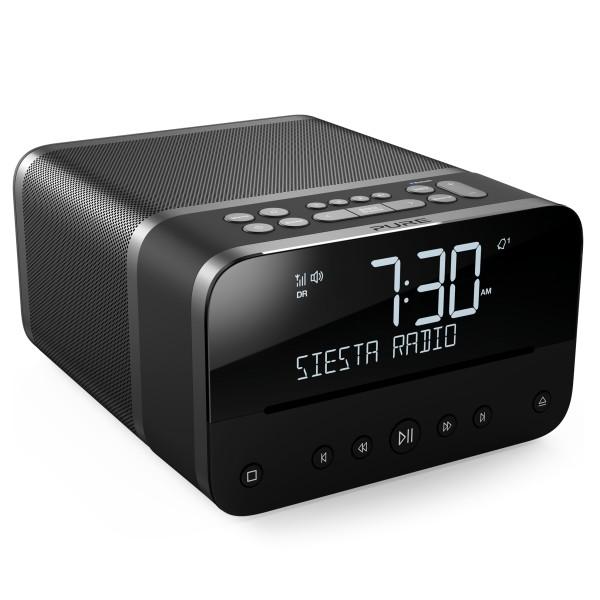 Pure - Siesta Home - Grafite - Sistema Musicale Compatto Premium - DAB+/FM/Lettore CD/Bluetooth - Radio Digitale di Alta Qualità