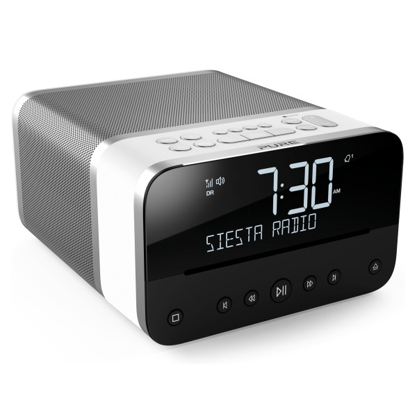 Pure - Siesta Home - Polar - Sistema Musicale Compatto Premium - DAB+/FM/Lettore CD/Bluetooth - Radio Digitale di Alta Qualità