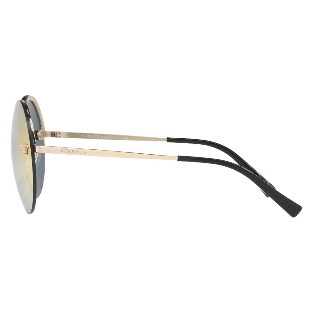 6c5effb19e0f ... Versace - Sunglasses Versace Mirror Medusa - Rose Gold - Sunglasses - Versace  Eyewear ...