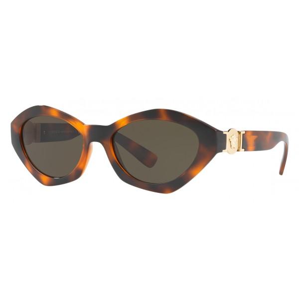 06f76ad1f48 Versace - Sunglasses Versace Hexad Signature - Havana - Sunglasses - Versace  Eyewear - Avvenice