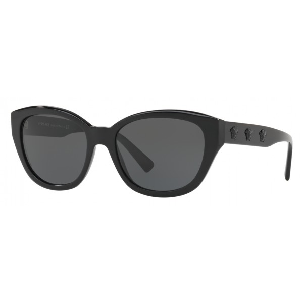 4cd4490c5304 Versace - Sunglasses Versace Clear Medusa Cat-Eye - Black - Sunglasses -  Versace Eyewear - Avvenice