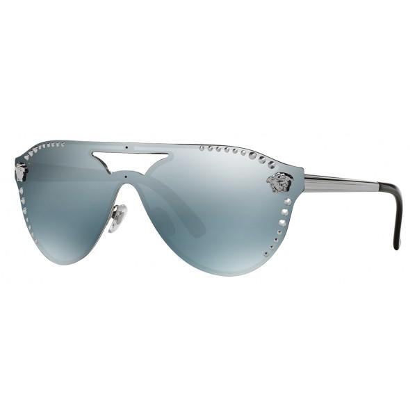 b1e4b1b7e5 Versace - Sunglasses Versace Glam Medusa - Dark Grey - Sunglasses - Versace  Eyewear - Avvenice