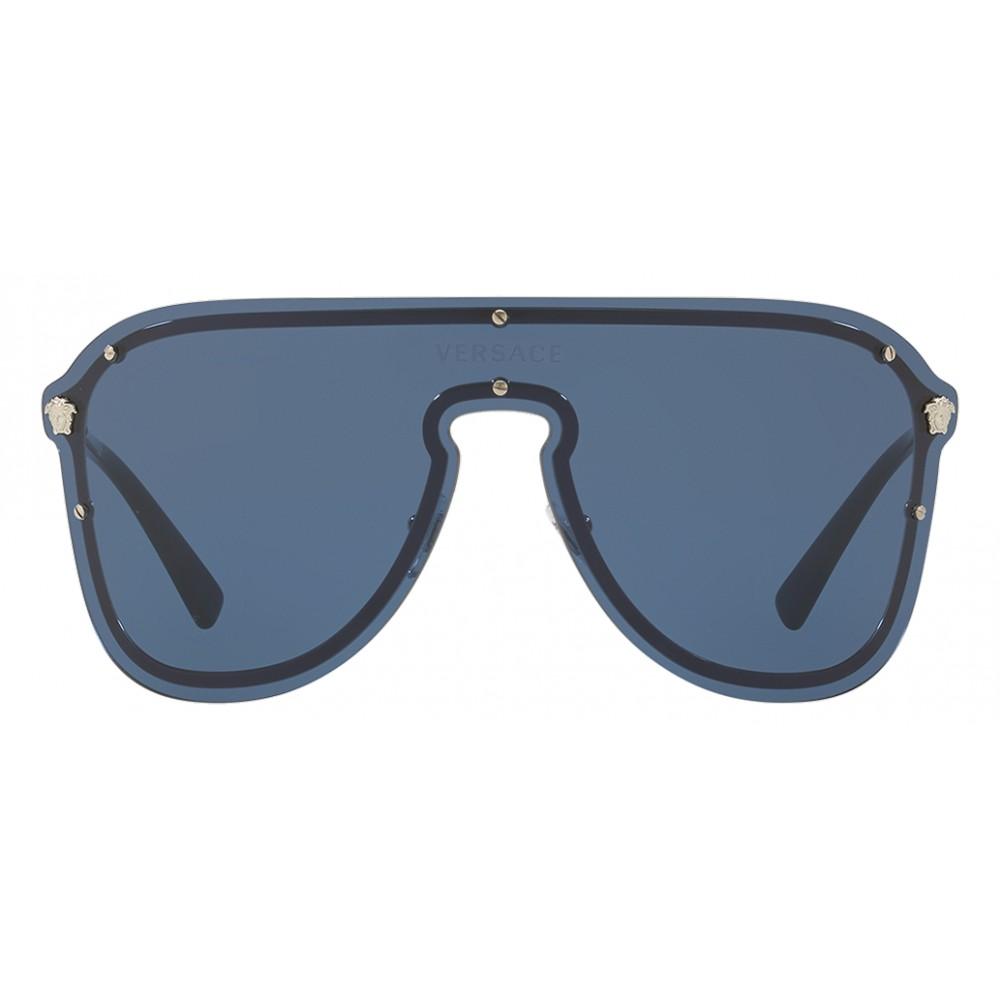 6a89d9745925 Versace - Sunglasses Versace Frenergy Mask - Blue - Sunglasses - Versace  Eyewear - Avvenice