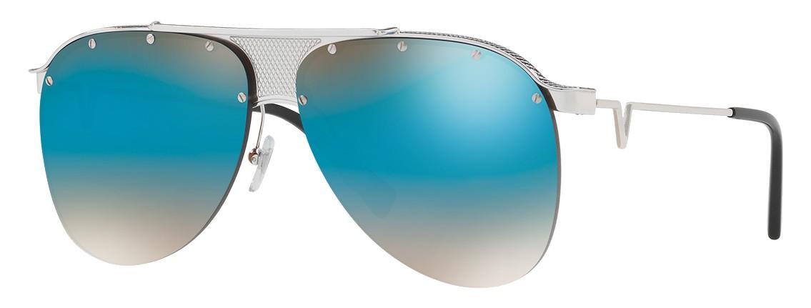 06fcd5d8e2c Versace - Sunglasses Versace V-Pilot - Blue - Sunglasses - Versace Eyewear  - Avvenice