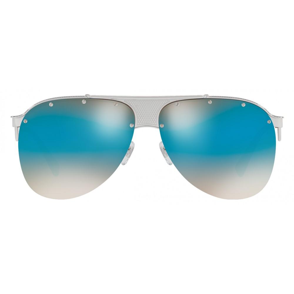 da511e6b579 ... Versace - Sunglasses Versace V-Pilot - Blue - Sunglasses - Versace  Eyewear
