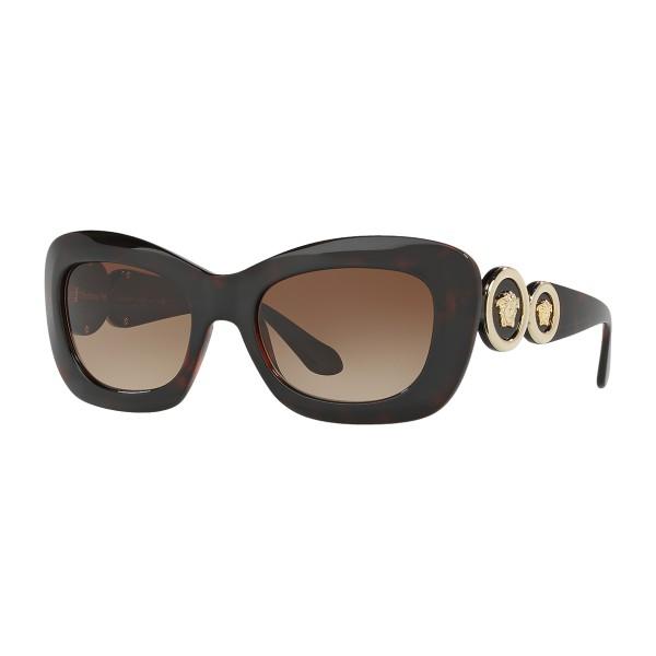 3ccd3832d8b Versace - Sunglasses Versace Medusa 96 Square - Brown - Sunglasses - Versace  Eyewear - Avvenice