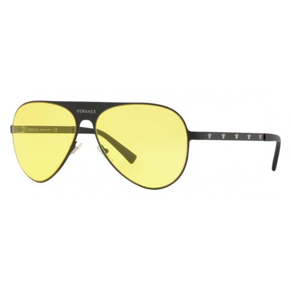 56a44a1b833 Versace - Sunglasses Versace Aviator Medusina - Yellow Onul - Sunglasses - Versace  Eyewear - Avvenice
