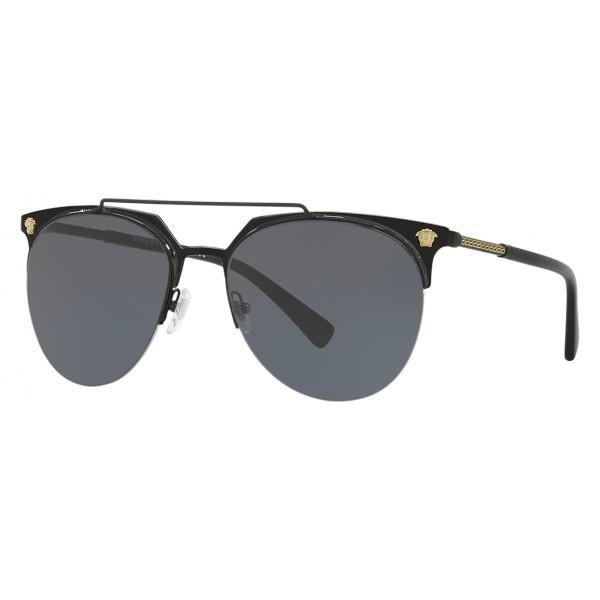 Versace - Sunglasses Versace Frenergy Pilot - Black - Sunglasses ...