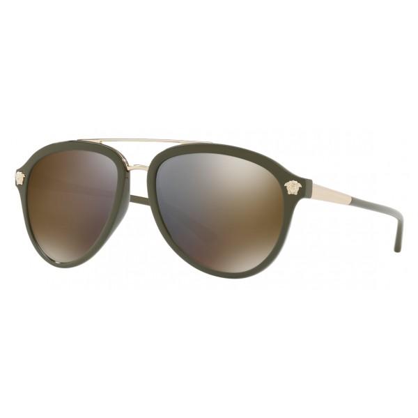 7a5155cb3209 Versace - Sunglasses Versace Medusa Luxe - Gold - Sunglasses - Versace  Eyewear - Avvenice
