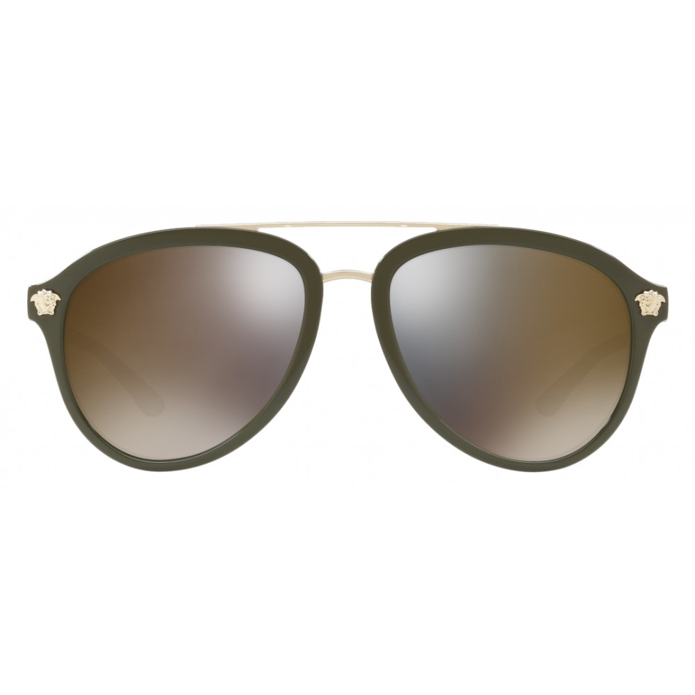 e5879e357e7f ... Versace - Sunglasses Versace Medusa Luxe - Gold - Sunglasses - Versace  Eyewear