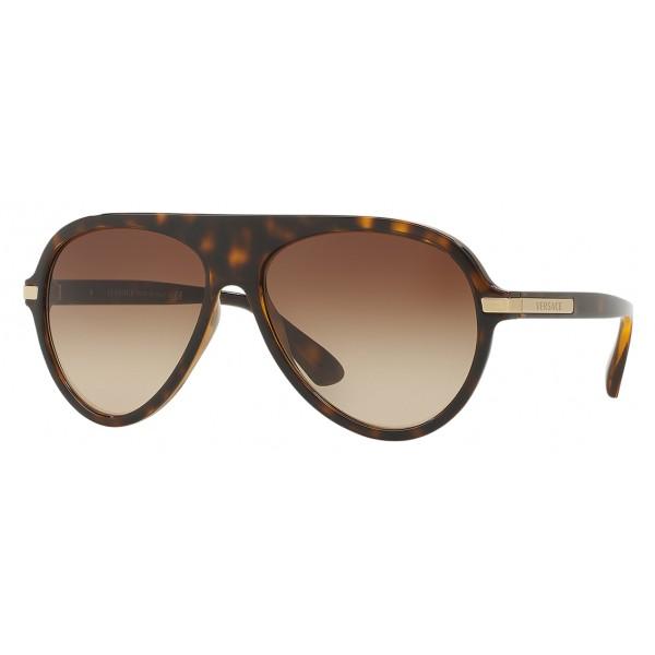 19d16dd4ca6 Versace - Sunglasses Versace V-Fly - Havana - Sunglasses - Versace Eyewear  - Avvenice