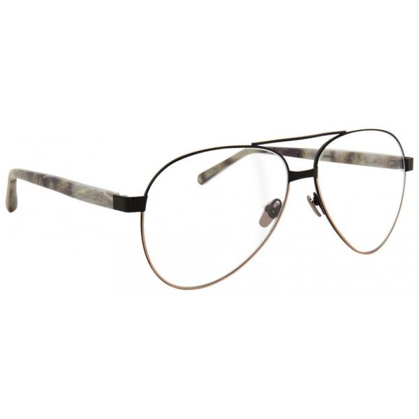 Linda Farrow - Occhiali da Vista Aviator 533 C8 - Nero - Linda Farrow Eyewear