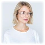 Linda Farrow - Occhiali da Vista Aviator 533 C7 - Oro - Linda Farrow Eyewear