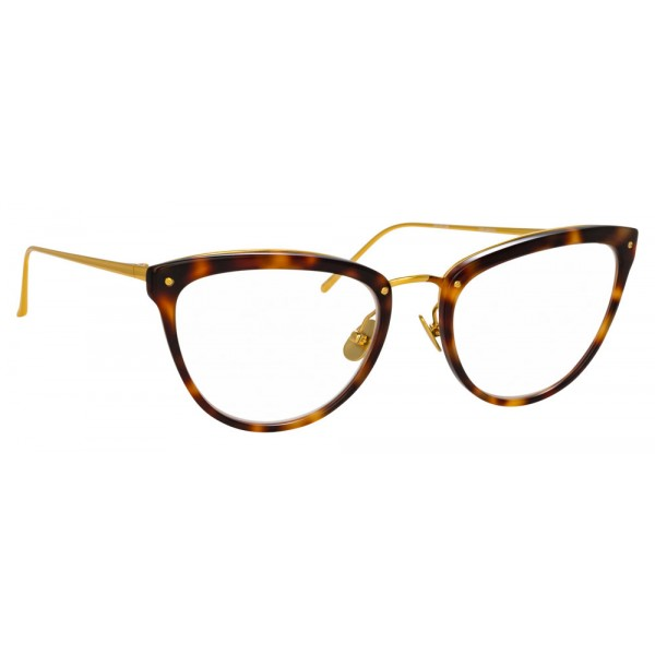 Linda Farrow - 683 C11 Cat Eye Optical Frames - Tortoiseshell - Linda Farrow Eyewear