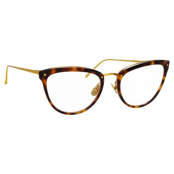 Linda Farrow - Occhiali da Vista Cat Eye 683 C11 - Tartaruga - Linda Farrow Eyewear