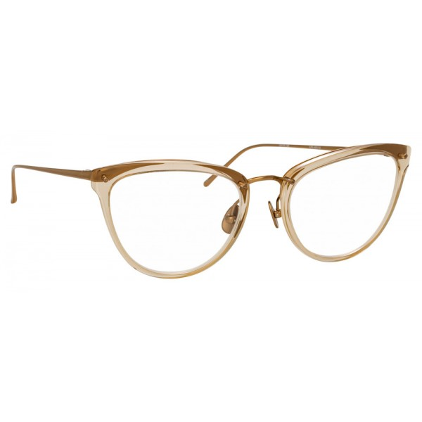 Linda Farrow - 683 C12 Cat Eye Optical Frames - Ash - Linda Farrow Eyewear