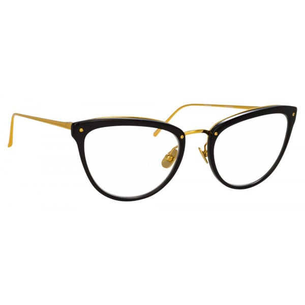 Linda Farrow - 683 C10 Cat Eye Optical Frames - Black - Linda Farrow Eyewear