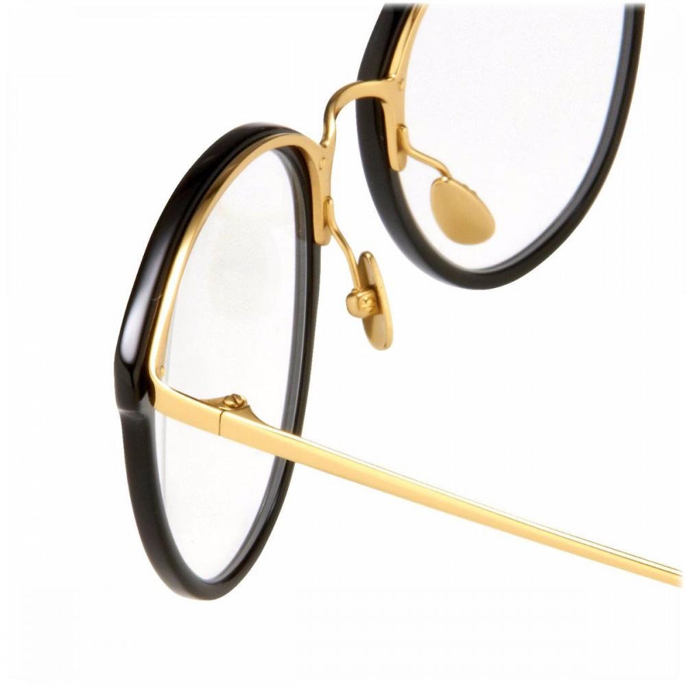4248158934a7 ... Linda Farrow - 251 C1 Oval Optical Frames - Nero - Linda Farrow Eyewear  ...