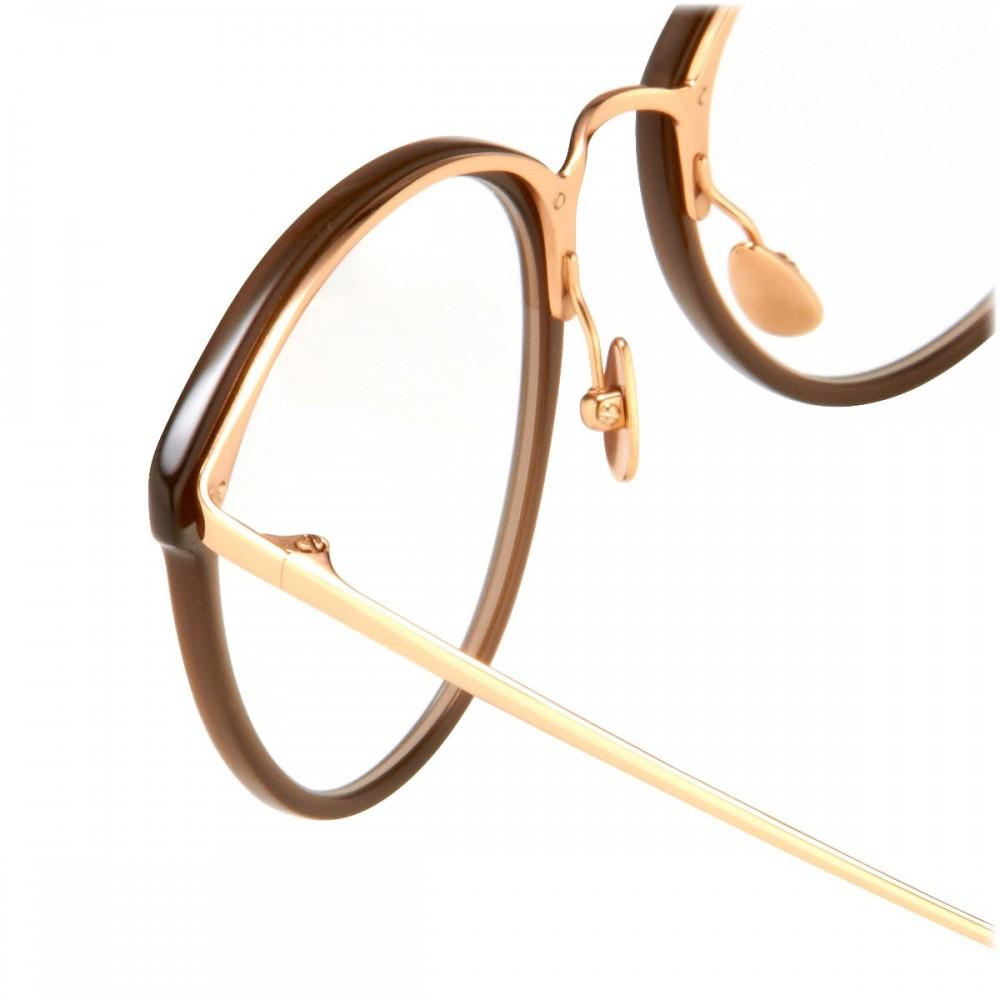 760859eb40ee ... Linda Farrow - 251 C6 Oval Optical Frames - Clear - Linda Farrow Eyewear