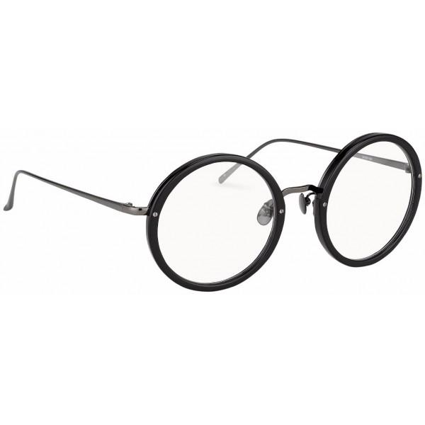 dc4a233d11ef Linda Farrow - 239 C19 Round Optical Frames - Black - Linda Farrow Eyewear