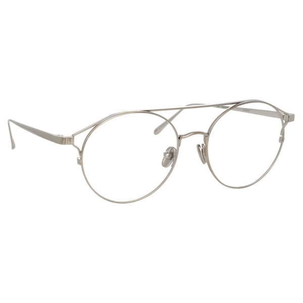 Linda Farrow - 825 C9 Oval Optical Frames - Optical Lens in White ...