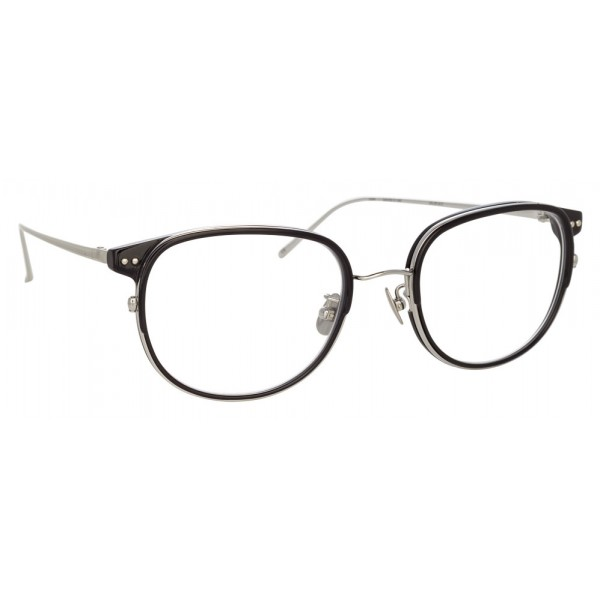 960c798bfa Linda Farrow - 814 C3 Square Optical Frames - Optical Lens in Black Frame - Linda  Farrow Eyewear - Avvenice