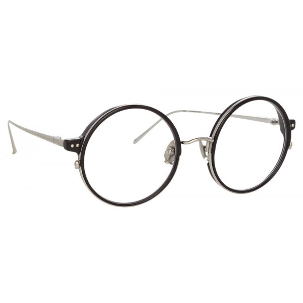 5615899b1e551 Linda Farrow 801 C12 Round Optical Frames Lens In Black. Golden Rimless  Round Small Size 47 Vincent Chase Rimsteel Vc 304 Eyegles