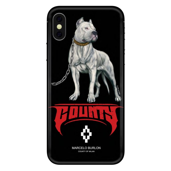 Marcelo Burlon - Cover Dogo - iPhone X - Apple - County of Milan - Cover Stampata