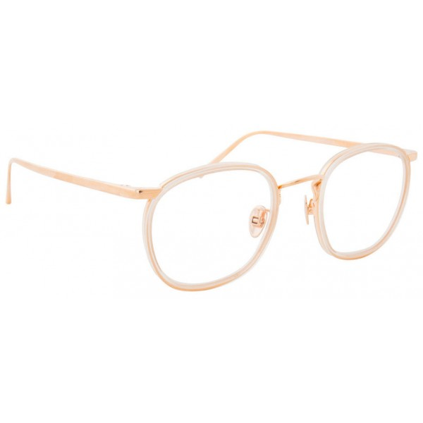 933a424f42 Linda Farrow - 562 C9 Oval Optical Frames - Clear - Linda Farrow Eyewear -  Avvenice