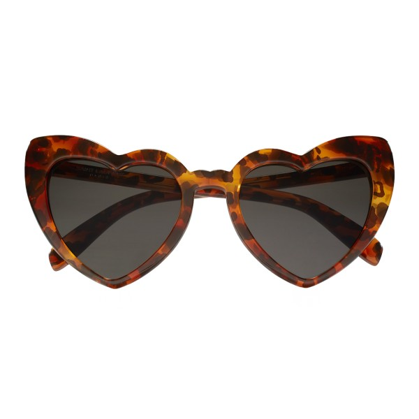 Yves Saint Laurent - New Wave SL 181 Loulou Heart Sunglasses with Leopard Motif - Sunglasses - Yves Saint Laurent Eyewear