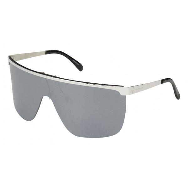 Givenchy - Mask Sunglasses with Black Flash Lenses - Sunglasses - Givenchy Eyewear