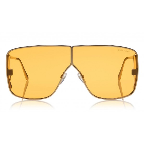 Tom Ford - Spector Sunglasses - Oversize Rectangular Acetate Sunglasses - FT0708 - Sunglasses - Tom Ford Eyewear