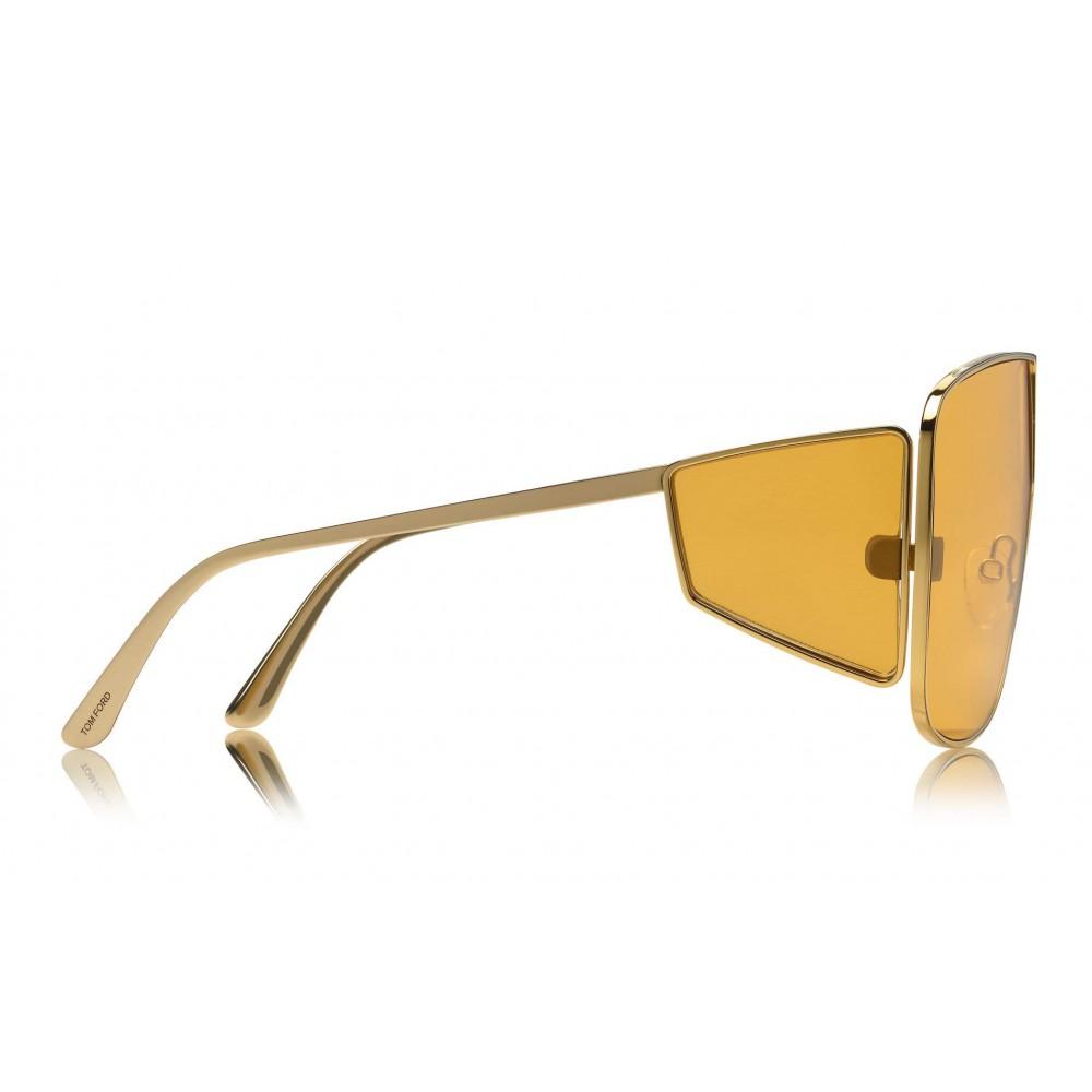 5b03861371 ... Tom Ford - Spector Sunglasses - Oversize Rectangular Acetate Sunglasses  - FT0708 - Sunglasses - Tom ...