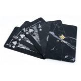Mikol Marmi - Carte da Poker in Marmo - Marmo Nero Marquina Mish - Carte da Poker in Vero Marmo - Mikol Marmi Collection