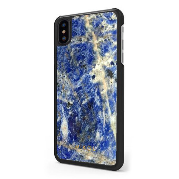 Mikol Marmi - Cover iPhone in Marmo Laguna Blu - iPhone X / XS - Cover in Vero Marmo - Cover iPhone - Apple - Mikol Marmi Collec