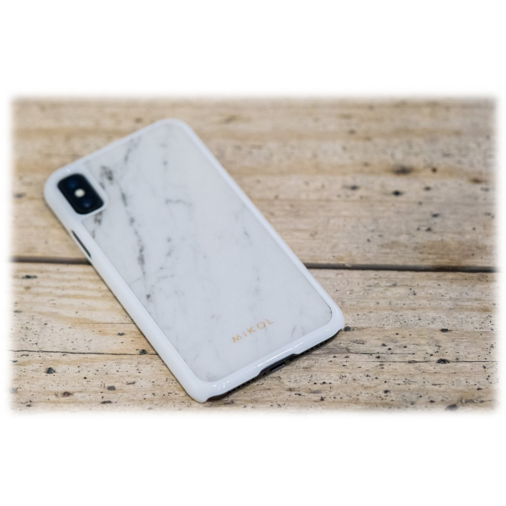 Mikol Marmi Carrara White Marble Iphone Case Iphone Xs Max